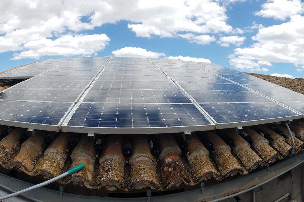 Reparación de placas solares